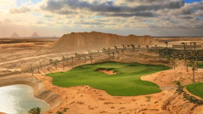 New Platinum TE Paspalum Golf Course Offers View of the Pyramids of Giza